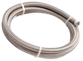 <strong>200 Series PTFE Stainless Steel Braided Hose -6AN</strong><br />1 Metre Length