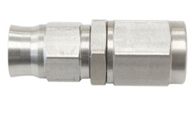 <strong>Straight Hose End Metric M10 x 1.0mm</strong> <br /> Stainless Steel Finish