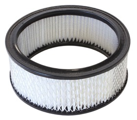 "<strong>Replacement Round Air Filter Element</strong><br /> 6-3/8"" x 2-1/2"", paper element"