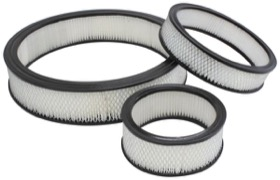 <strong>Replacement Round Air Filter Element</strong><br /> 9&quot; x 2&quot;, paper element equivalent to