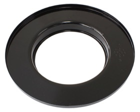 <strong>9&quot; Air Cleaner Base Only</strong><br />Black, Flat Base Suit 5-1/8