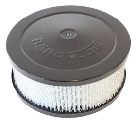 "<strong>Black Air Filter Assembly</strong><br /> 6-3/8"" x 2-1/2"", 5-1/8"" neck, paper element"