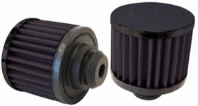 <strong>Black Push In Breather</strong><br /> 3&quot; (76.2mm) O.D. x 2-1/2&quot; (63.5mm) High, 1-1/4&quot; (31.75mm) Flange Inside Diameter