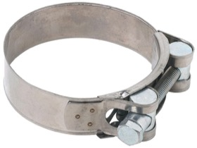 <strong>Stainless T-Bolt Hose Clamp 86-91mm</strong><br />