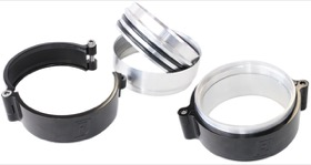 "<strong>Aluminium Intercooler Pipe Clamp 4""</strong> <br />Black Finish"