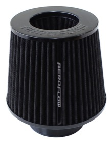 "<strong>Universal Tapered 3"" (76mm) Clamp-On Filter</strong><br />5 in (127 mm) H x 6 in (154 mm) Base OD x 4.724 in (120 mm) Top OD"