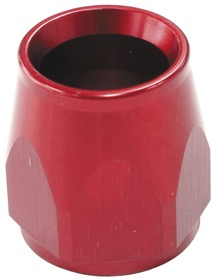 <strong>PTFE Hose End Socket -4AN</strong><br />Red Finish. Suit 200 & 570 Series Fittings Only