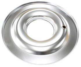 "<strong>14"" Air Cleaner Base Only</strong><br />Chrome, Flat Base Suit 5-1/8"