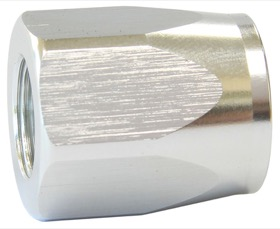 <strong>Alloy Taper Style Hose End Socket -4AN</strong> <br />Silver Finish. Suit 100 & 150 Series Fittings Only