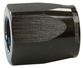 <strong>Alloy Taper Style Hose End Socket -6AN</strong> <br />Black Finish. Suit 100 & 150 Series Fittings Only