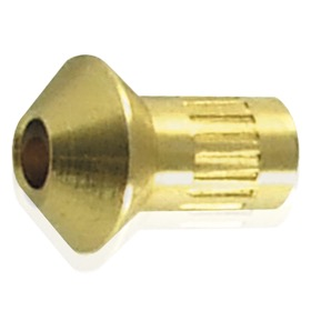 <strong>Brass Concave Seat Olive Inserts -3AN (5 Pack) </strong><br />For use with AF232-03 & AF236-03