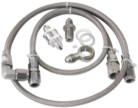 <strong>Turbo Oil Line Kit </strong><br /> Suit Ford Falcon BA-FG 2002-on. Includes a 30 Micron Filter