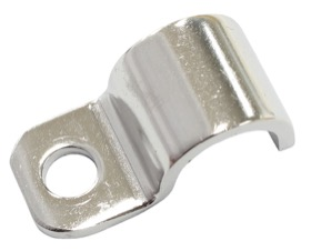 <strong>Stainless Steel Hard Line Clamps (12 Pack)</strong> <br /> Suit 3/8&quot; Hard Line