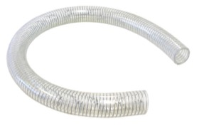 "<strong>Reinforced Clear PVC Breather Hose 1-1/4"" (32mm) I.D</strong><br /> 1 Meter Length"