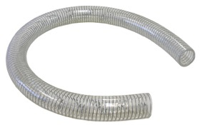 "<strong>Reinforced Clear PVC Breather Hose 1-1/2"" (38mm) I.D</strong><br />2 Meter Length"