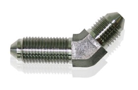 <strong>45° Stainless Steel Bulkhead -4AN</strong> <br />