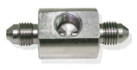 "<strong>Stainless Steel Male Flare Union</strong><br /> -3AN with 1/8"" NPT Port"
