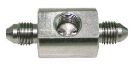 <strong>Stainless Steel Male Flare Union </strong><br /> -4AN with 1/8&quot; NPT Port