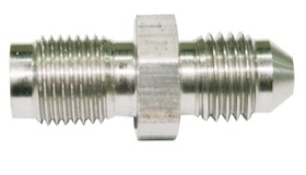 "<strong>Stainless Steel Inverted Flare Adapter -3AN </strong><br /> 3/8""-24 (Long)"