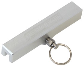 <strong>Billet Throttle Stop </strong><br />Silver Anodised (Cut To Length)