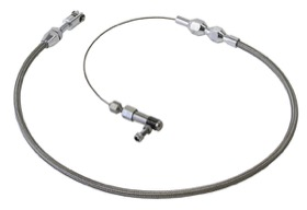 <strong>Stainless Steel Throttle Cable - 48&quot; Length</strong><br />