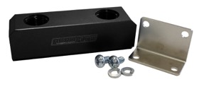 <strong>Billet Log Type Fuel Block -8AN</strong><br /> Black Finish