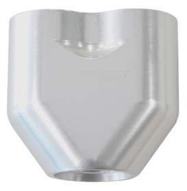 <strong>Billet 3 Port Y-Block with 2 x -8 ORB, 1 x -10 ORB Ports</strong><br />Silver Finish
