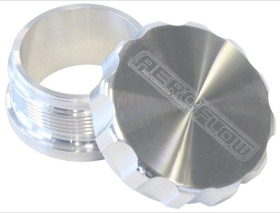 "<strong>1-1/2"" Billet Aluminium Weld-On Filler with Raw Cap</strong><br />"