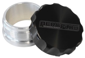 <strong>2-1/2&quot; Billet Aluminium Weld-On Filler with Black Cap</strong><br />