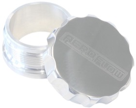 "<strong>2-1/2"" Billet Aluminium Weld-On Filler with Polished Cap</strong><br />"