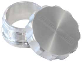 <strong>2-1/2&quot; Billet Aluminium Weld-On Filler with Silver Cap</strong><br />