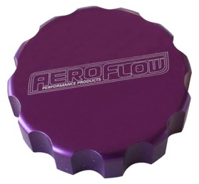 <strong>Billet Radiator Cap Cover </strong><br /> Suit Small Cap, Purple Finish