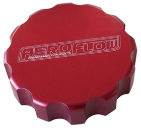 <strong>Billet Radiator Cap Cover </strong><br /> Suit Small Cap, Red Finish