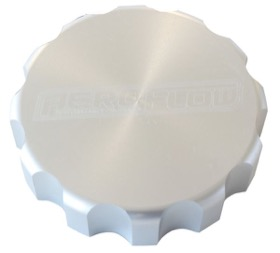 <strong>Billet Radiator Cap Cover </strong><br /> Suit Small Cap, Silver Finish