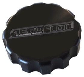 <strong>Billet Radiator Cap Cover </strong><br /> Suit Large Cap, Black Finish