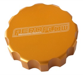 <strong>Billet Radiator Cap Cover </strong><br /> Suit Large Cap, Gold Finish