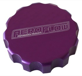 <strong>Billet Radiator Cap Cover </strong><br /> Suit Large Cap, Purple Finish