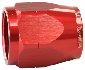 <strong>Alloy Cutter Style Hose End Socket -6AN</strong> <br />Red Finish. Suit 500 & 550 Series Fittings Only