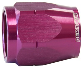 <strong>Alloy Cutter Style Hose End Socket -8AN</strong> <br /> Purple Finish. Suit 500 & 550 Series Fittings