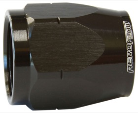 <strong>Alloy Cutter Style Hose End Socket -10AN</strong> <br /> Black Finish. Suit 500 & 550 Series Fittings