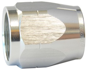 <strong>Alloy Cutter Style Hose End Socket -10AN</strong> <br /> Silver Finish. Suit 500 & 550 Series Fittings