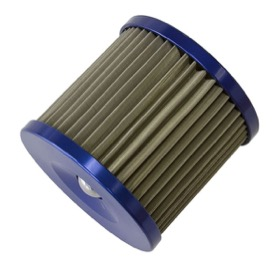 <strong>Replacement 30 Micron Stainless Steel Oil Filter Element</strong><br />Suit Aeroflow Billet Re-Usable Oil Filters AF64-2016