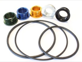 <strong>Replacement O-rings & Thread Inserts</strong><br /> Suit Aeroflow Billet Re-Usable Oil Filters AF64-2016