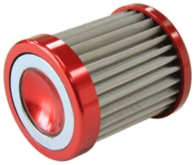 <strong>Replacement Fuel Filter Element</strong><br />10 Micron S/S Suit GM & Ford Filter AF66-2056 & AF66-2057