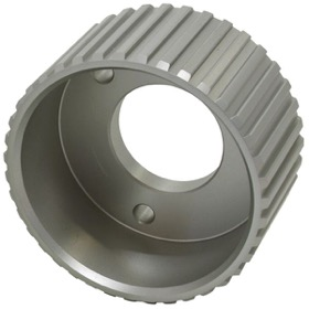 <strong>Gilmer Drive Crankshaft Pulley - Silver Finish</strong><br /> Suit SB & BB Chevy with Short Water Pump