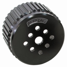 <strong>Water Pump Gilmer Pulley</strong><br />Black Anodised Suit SB/BB Chev
