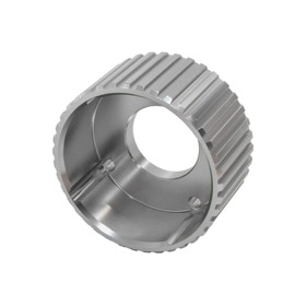 <strong>Gilmer Drive Crankshaft Pulley - Silver Finish</strong><br /> Suit Holden V8