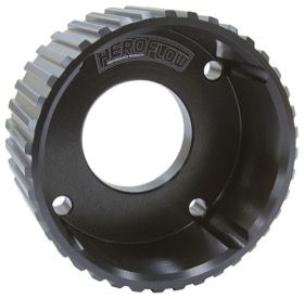 <strong>Gilmer Drive Crankshaft Pulley - Black Finish</strong><br /> Suit Holden V8
