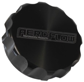 "<strong>1-1/2"" Billet Aluminium Filler Cap</strong> <br /> Black Finish"