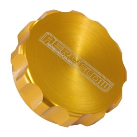 "<strong>1-1/2"" Billet Aluminium Filler Cap</strong> <br /> Gold Finish"